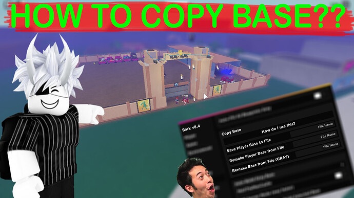 how to copy base